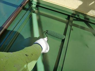 鎌ヶ谷市屋根外壁塗装足場洗浄下処理工事042
