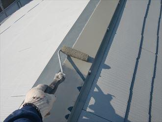 鎌ヶ谷市屋根外壁塗装足場洗浄下処理工事027