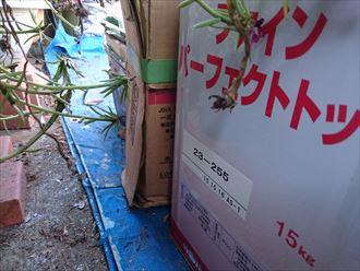 鎌ヶ谷市屋根外壁塗装足場洗浄下処理工事054