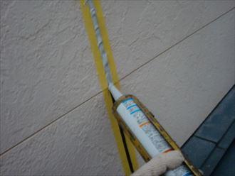鎌ヶ谷市屋根外壁塗装足場洗浄下処理工事021