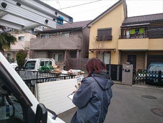 八千代市,近隣挨拶,屋根カバー,外壁塗装