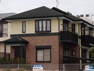 を活かした外壁塗装と屋根塗装、ベランダ防水工事