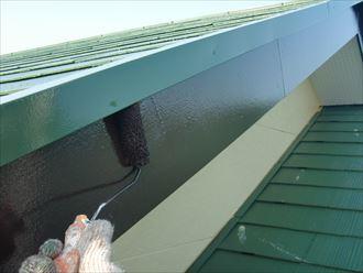 鎌ヶ谷市屋根外壁塗装足場洗浄下処理工事041