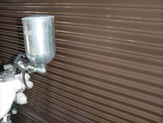 鎌ヶ谷市屋根外壁塗装足場洗浄下処理工事045