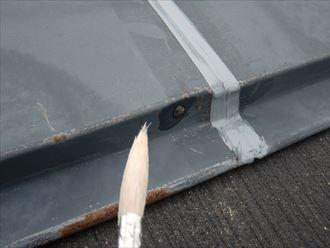 鎌ヶ谷市屋根外壁塗装足場洗浄下処理工事016