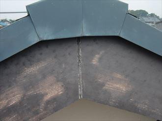 鎌ヶ谷市屋根外壁塗装足場洗浄下処理工事007