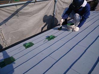 鎌ヶ谷市屋根外壁塗装足場洗浄下処理工事047