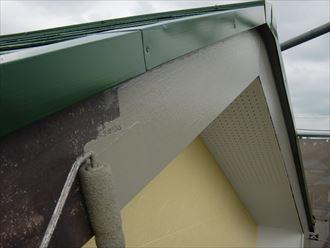 鎌ヶ谷市屋根外壁塗装足場洗浄下処理工事037