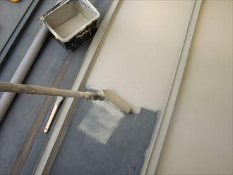 鎌ヶ谷市屋根外壁塗装足場洗浄下処理工事030
