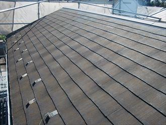 鎌ヶ谷市屋根外壁塗装足場洗浄下処理工事001