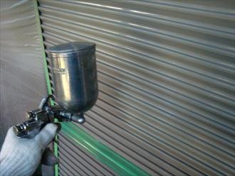 鎌ヶ谷市屋根外壁塗装足場洗浄下処理工事043