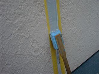 鎌ヶ谷市屋根外壁塗装足場洗浄下処理工事022