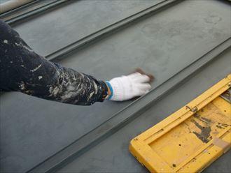 鎌ヶ谷市屋根外壁塗装足場洗浄下処理工事029
