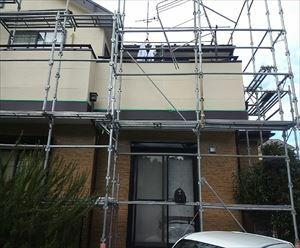 花見川区クリア塗装工事工程022