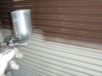 鎌ヶ谷市屋根外壁塗装足場洗浄下処理工事044