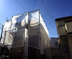 花見川区クリア塗装工事工程002