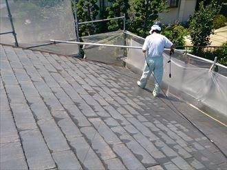 船橋市屋根塗装工事002