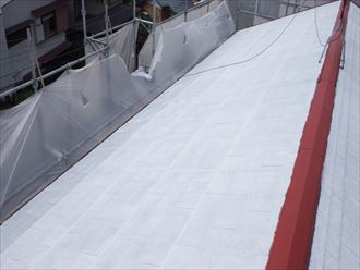 船橋市屋根塗装工事020