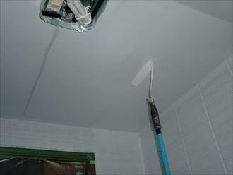 鎌ヶ谷市屋根外壁塗装足場洗浄下処理工事025