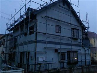 松戸市外壁カバー工事002