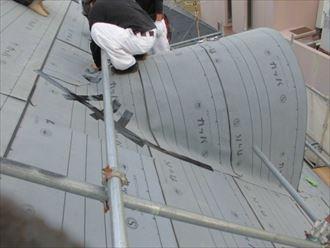 松戸市屋根葺き替えガルテクト013