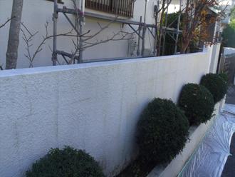 千葉市 門壁の塗装 塗装前