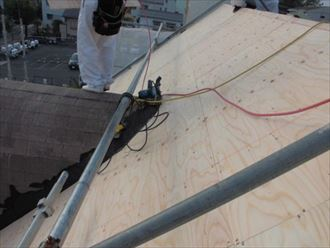 松戸市屋根葺き替えガルテクト012