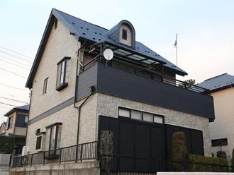 松戸市でベランダ防水の再施工、ウレタン防水通気緩衝工法