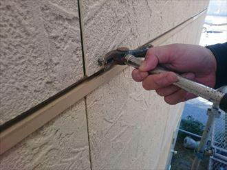 外壁,サイディング,浮き,釘