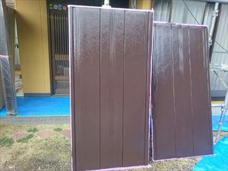 雨戸,塗装,乾燥