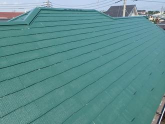 屋根塗装 サーモアイ使用