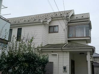 流山市 サイディング塗装と屋根塗装前の雨漏り調査です!