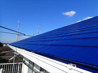 館山市 セカンドハウスの屋根塗装・外壁塗装前のご点検です