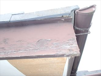 茂原市|スレート屋根の補修と屋根塗装点検中です!