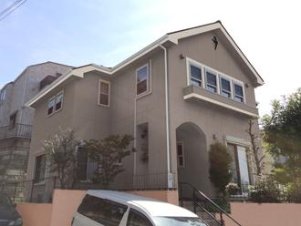 川崎市宮前区 セメント瓦とサイディング補修を含めた塗装前点検です!