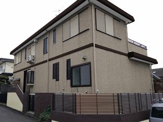 横浜市戸塚区|屋根はスーパーガルテクトにてカラーシミュレーション