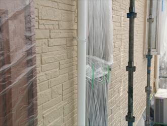 擁壁,雨樋,塗装