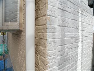 白,下塗り,外壁