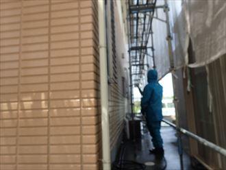 外壁,高圧洗浄