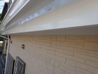破風板,雨樋,塗装