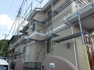 袖ケ浦市,足場解体,塗装工事,完了