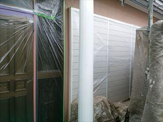 お天道様とにらめっこで進行中!千葉市の屋根外壁塗装工事