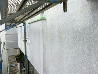 下塗り,日本ペイント,白,完了