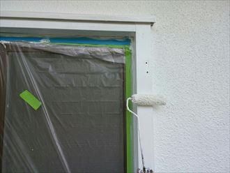 木枠,ローラー,塗装