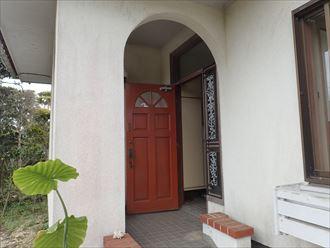 外壁塗装,モルタル,玄関ドア
