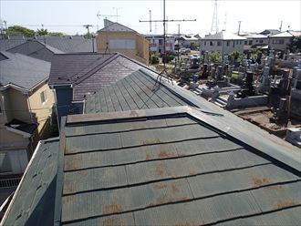 屋根,スレート,錆,板金