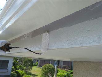 破風板,ファインSi,2回塗り,ホワイト