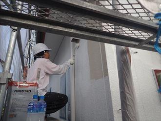 外壁,パーフェクトサーフ,下塗り
