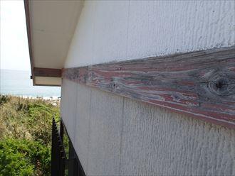 幕板,木材,色褪せ