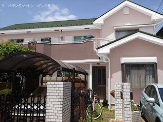 カラーシュミレーション,屋根外壁塗装,ツートン
